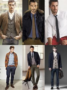 Men's Oxford Cloth Button-Down Shirt Lookbook Outfit Inspiration