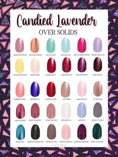 Color Street - Candied Lavender Dry Nail Polish, Nail Polish Strips, Nail Color Combos, Nail Colors, Color Nails, Latest Colour, Color Street Nails, Simple Nails, How To Do Nails