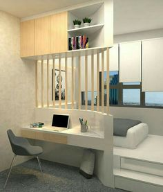 Awesome Small Apartment Bedroom Design Ideas To Try is part of Small bedroom designs - In their desire to save money, newlywed couples usually prefer to live first in small apartments especially if they still […] Apartment Bedroom Design, Home Bedroom, Bedroom Interior, Home Room Design, Small Apartment Bedrooms, Home Decor, House Interior, Tiny House Design, Room Decor