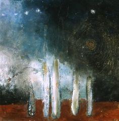 Deedra Ludwig. Leaden Sky. (her work just glows...lovely!)
