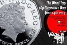 https://www.facebook.com/events/307822396048374/  50p Vinyl Clearance Day This Saturday  #vinyl #records #Huddersfield #Clearance