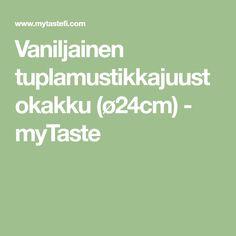 Vaniljainen tuplamustikkajuustokakku (ø24cm) - myTaste Something Sweet, Fodmap, Flora, Food And Drink, Sweets, Math Equations, Sweet Stuff, Ideas, Gummi Candy