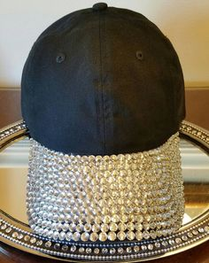 8ba76c32974 Custom Rhinestone Baseball Hat by FavorDesignsBoutique on Etsy Baseball Hats