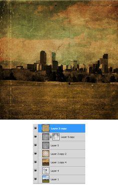grunge photoshop tutorial