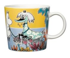 "A new Moomin character mug ""Primadonna's horse"" by Arabia, designed by Tove Slotte Nordic Home, Scandinavian Home, Les Moomins, Moomin Mugs, Tove Jansson, Geek Cave, Home Decor Online, My Collection, Marimekko"