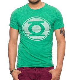 ce37f09dac72 Jack Of All Trades Green Lantern Vintage Logo T-Shirt DC1330-T1031 Large
