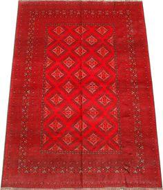 Red Beshir Carpet/Rug No. 4357  http://www.alrug.com/4357