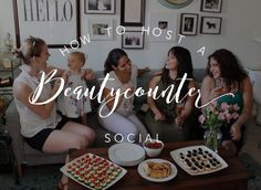 How to host a Beautycounter social party