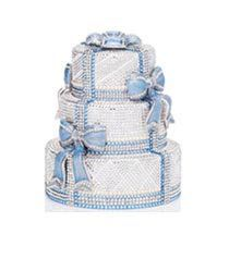 Judith Leiber Crystal Cake Minaudiere