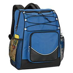 Backpack Cooler - Royal. For product info go to:  https://all4hiking.com/products/backpack-cooler-royal/