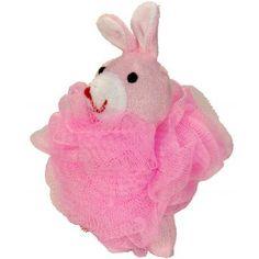 Esponja conejito rosa, ideal para hacer cestas de bautizo y comunión, sólo tienes que añadirle unos jaboncitos, o lo que más te guste  y hacer un buen envoltorio. Quedará genial !  #diy
