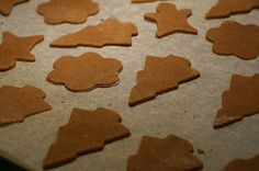 Estonian Christmas Recipes: piparkoogid aka Gingerbread Cookies