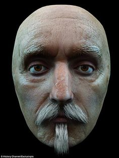 Shakespeare? - from 10 Facial Reconstructions of Famous Historical Figures | Mental Floss