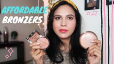 Sharing top 3 affordable bronzers available in India. How to use bronzer on face. What is bronzer? Difference between bronzer and contouring. Bronzer Makeup, Best Bronzer, Beauty Essentials, Beauty Hacks, Bronzer Application, Indian Skin Tone, Beauty Review, Makeup Revolution, Good Skin