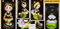 Fofucha Abejita linda Yoshi, Diy Crafts, Tote Bag, Dolls, Crochet, Biscuit, Madrid, 3d, Baby Dolls