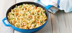 Cook with Campbells. Quick Chicken & Noodles