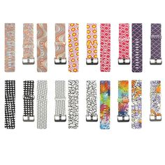 Classic Silicone Replacement Accessory Band/ Wristband Bracelet Strap with Watchband Buckle for Fitbit Blaze Smart Fitness Watch, Large Size, (Paisley/ Rainbow, Stripes, Porker, Nest, Cranny Design). Personalized Your Fitbit Blaze tracker wristband, looks stylish and cute. Lock the watch frame with a quick release pins, very easy to replace and remove. Made from comfortable silicone materials, comfortable fit day and night. Flexible and durable, no irriation on human skins. Include…