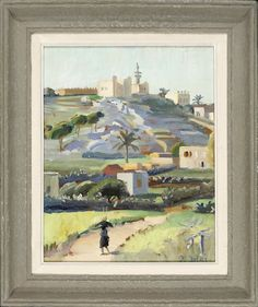 Mosque on a Hilltop - Omar Onsi His Travel, Mosque, Contemporary, Modern, Fine Art Photography, Impressionist, Printmaking, 21st, Sculpture