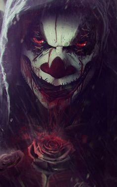 Look at that smile Arte Horror, Horror Art, Clown Tattoo, Horror Pictures, Neue Tattoos, Joker Art, Creepy Clown, Evil Clowns, Skull Art