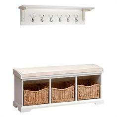 prepac ashley shoe storage bench white. Hallway Storage, Shoe Storage And Benches | Oak, Solid Wood White The Prepac Ashley Bench S