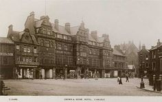 Cumbria, Carlisle, Crown and Mitre Hotel Old Images, Old Photos, Carlisle Cumbria, Kingdom Of Great Britain, Louvre, England, Crown, History, Road Trips