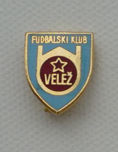 Velež Mostar of Bosnia-Hercegovina - love the 'Fudbalski Klub'!
