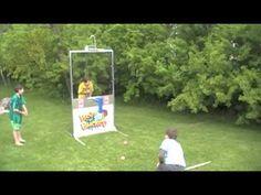 Beat The Bucket - Perfect Backyard Dunk Tank Alternative! - YouTube