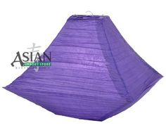 "14"" Dark Purple Pagoda Paper Lantern by Asian Import Store, Inc.. $5.50. Lantern is held open with a wire expander.. (All lanterns sold without lighting, lighting options must be purchased separately). Dark Purple color paper lantern in a unique pagoda shape.. Dimensions: 14"" x 14"" x 11 H"". Dark Purple color paper lantern in a unique pagoda shape. Lantern is held open with a wire expander.  Dimensions: 14"" x 14"" x 11 H""  (All lanterns sold without lighting, lighting optio..."