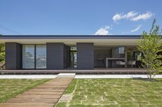 Japanese Architecture, Architecture Design, Extension Designs, One Story Homes, Dream House Exterior, Story House, Facade, Real Estate, House Design