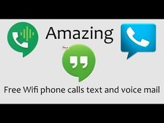 How to setup a android phone to make and receive free calls text and voice mail all over wifi