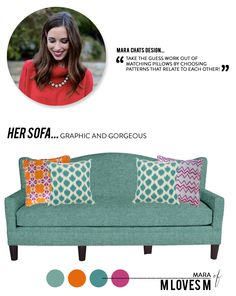 Project Sofa Design from M Loves M  Read more - http://www.stylemepretty.com/living/2014/01/20/project-sofa-design-from-m-loves-m/