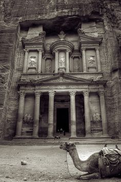 Petra is a site in the Arabah, Jordan. Petra represents the ancient world's heritage culture. It is a beauty hidden behind layers of mountain. Oh The Places You'll Go, Places To Travel, Places To Visit, Seven Wonders, Wonders Of The World, Beautiful Places, Rome, To Go, Around The Worlds