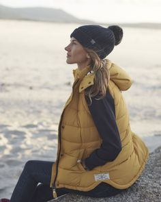 Learn more about >> Check out Vitamin Sea gilet for spring days- love this colour #Joules #myjoules...