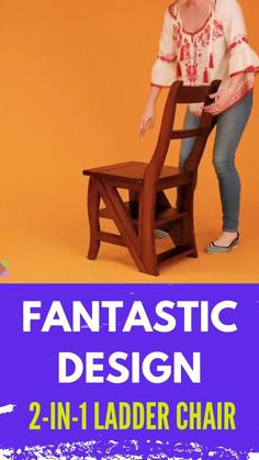House Furniture Design, Home Decor Furniture, Wood Furniture, Wood Chair Design, Folding Furniture, Space Saving Furniture, Kitchen Room Design, Home Room Design, Petit Camping Car