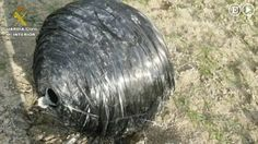 Mysterious black orb from space crashes in Spanish field: Locals say UFO 'fell from heaven' - Mirror Online