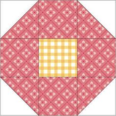 Variation on Shoo Fly Quilt Pattern