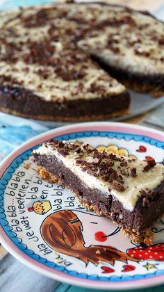 gezonde chocoladetaart met vanille (glutenvrij en lactosevrij)