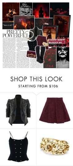 """""""Round Five Azula's Nemesis"""" by pie-epic ❤ liked on Polyvore featuring Matiere, Karl Lagerfeld, Chanel, Oscar de la Renta and bothav05"""