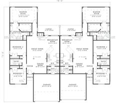 Super simple studio floor plan ideas pinterest for Duplex plans for seniors