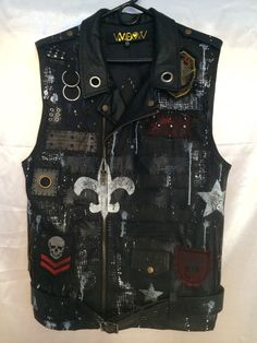 Vest by Chad Cherry from Chad Cherry Clothing.