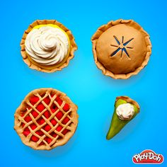 Baking 3.14 pies to honor Pi Day is easy with our Double Desserts Playset!
