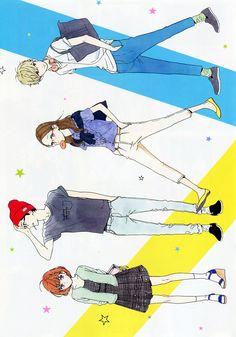 Nekota Yuyuka, Shishio Satsuki, Yosano Suzume, Mamura Daiki
