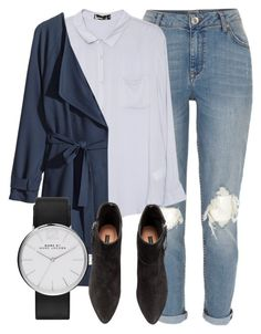"""""""Untitled #4595"""" by laurenmboot ❤ liked on Polyvore featuring River Island, H&M and Marc by Marc Jacobs"""
