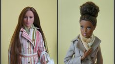 Coat Pattern for Barbie Made to Move and Sewing Instructions – For Dolls With Love Sewing Barbie Clothes, Barbie Sewing Patterns, Sewing Dolls, Doll Clothes Patterns, Clothing Patterns, Diy Clothes, Clothing Ideas, Barbie Hair, Barbie Doll House