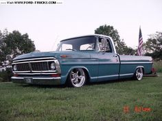 1970 ford f100 lowered - Google Search