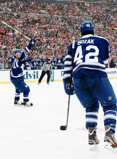 Kessel and Bozak. Best friends. Roommates. Toronto Maple Leafs.