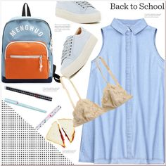 Casual back to school outfit