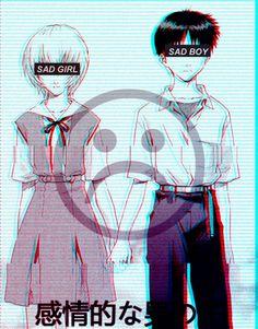 Anime Chibi, Anime Art, Avatar, Matching Pfp, Ulzzang Couple, My Demons, Anime People, Neon Genesis Evangelion, Japan Art