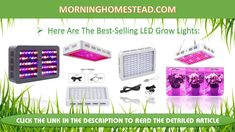 Best LED Grow Lights: Reviews (Top Picks for the Money) & Guide ===== #led #grow #light #indoor #growing #gardening #garden
