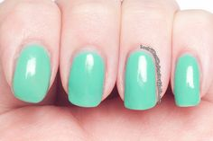 Look What the Bats Dragged In!: Cult Nails Hypnotize Me over Rimmel Misty Jade